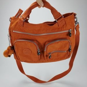 [Kipling] Orange Crossbody / Handbag / Messenger